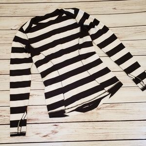Lululemon Striped Base Runner Top Size 4